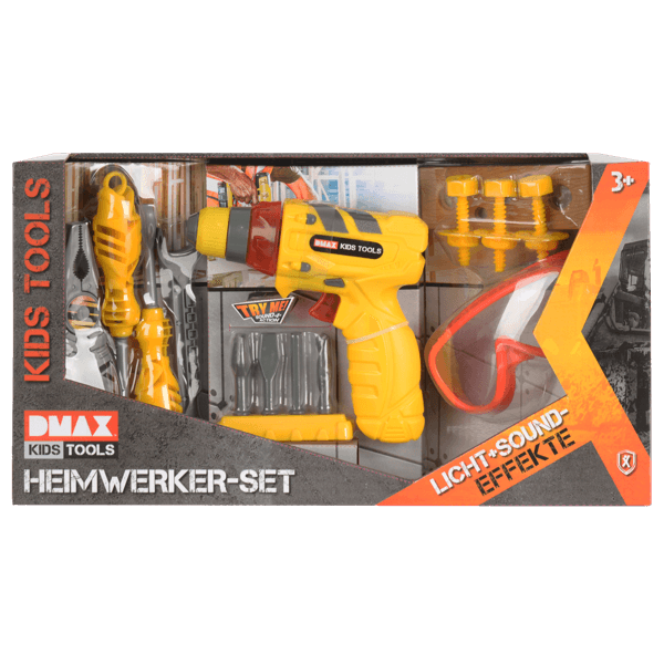 DMAX Kids Tools Heimwerker-Set
