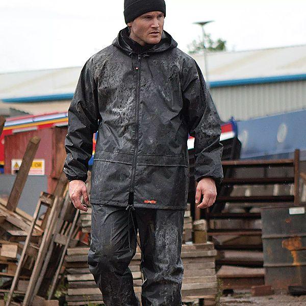 Robuster Workwear Regenanzug