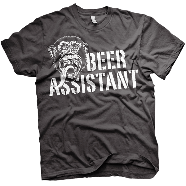 "Gas Monkey Garage T-Shirt ""Beer Assistant"""