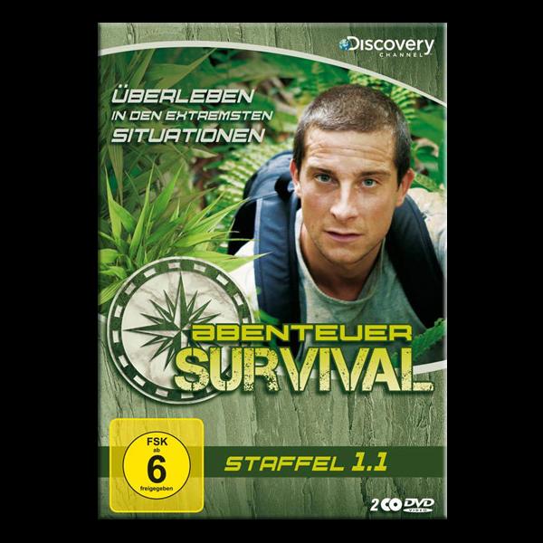 """DVD """"Abenteuer Survival - Staffel 1.1"""""""