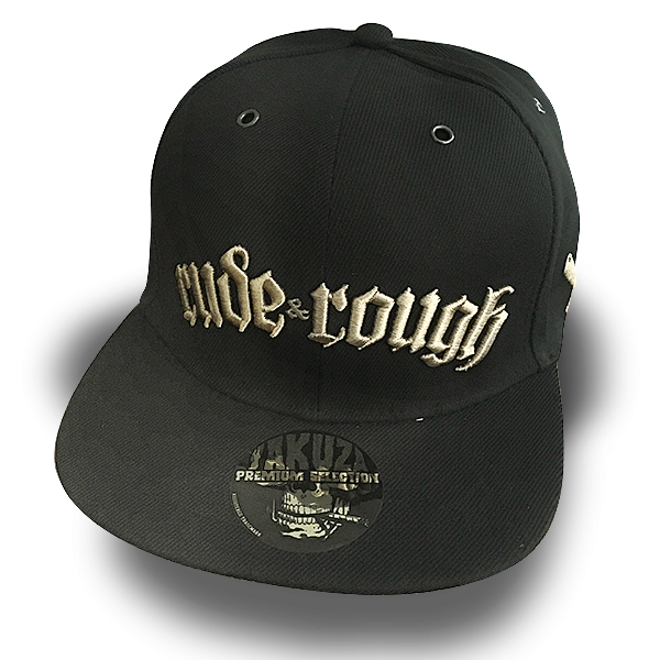 "Snapback Cap ""Rude & Rough"""