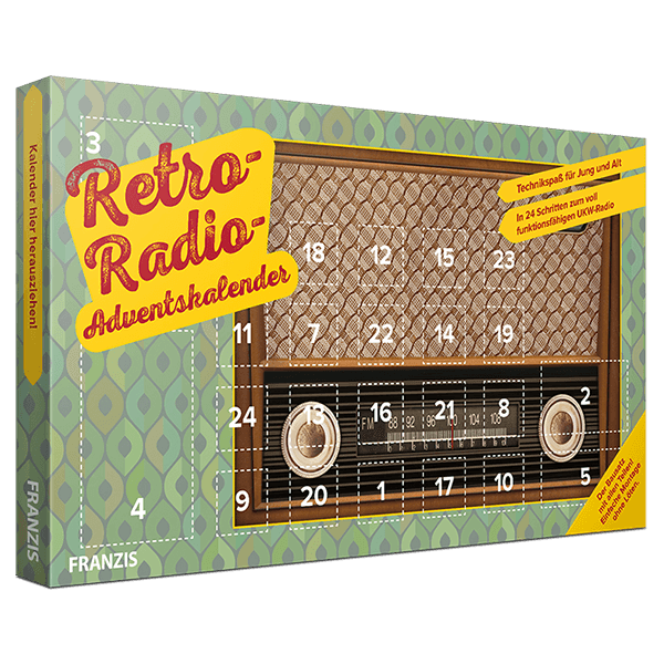 "Adventskalender ""Retro-Radio"""