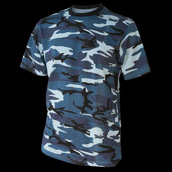 "T-Shirt ""Camo-Style Blue Sky"""