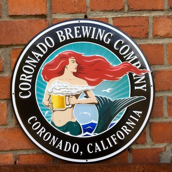 """Brauerei-Blechschild """"Coronado Brewing Company"""""""