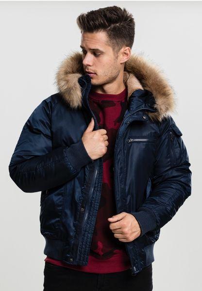 "Winter Kapuzenjacke ""Bomber Jacket"" von Urban Classics"
