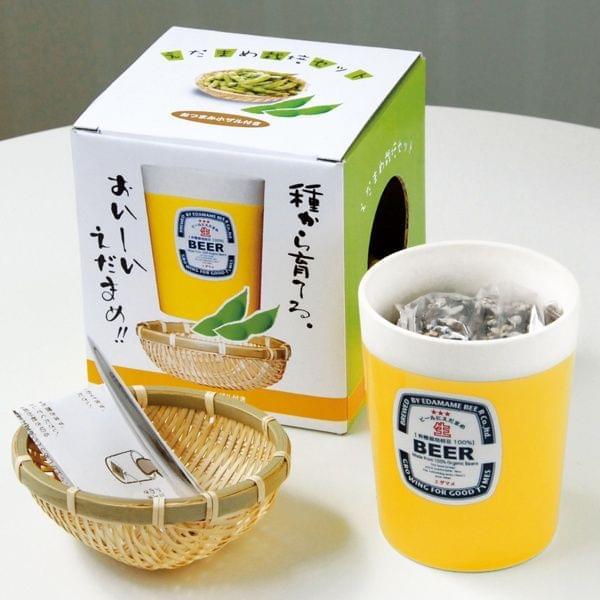 Japanisches Edamame Pflanzset (die Bohne zum Bier)