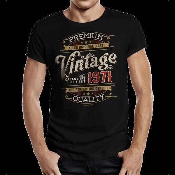 """T-Shirt """"Vintage seit 1971"""""""