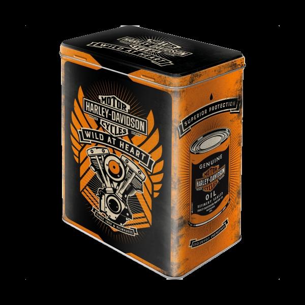 "Blechdose ""Harley Davidson - Wild at Heart"""