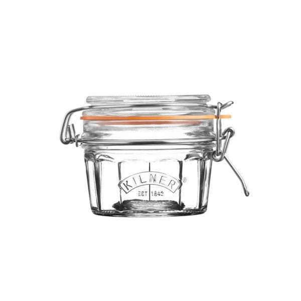 """Aufbewahrungsglas """"Facetted Clip Top Jar"""" in 4 Größen"""