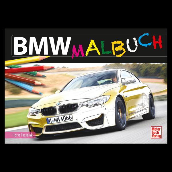 """Malbuch """"BMW"""""""