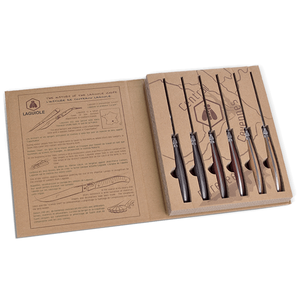 6-teiliges Steakmesser-Set von Laguiole