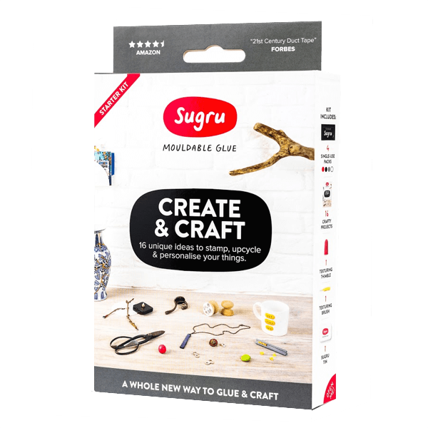 Sugru formbare Klebemasse - Create & Craft Kit