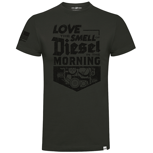 "Diesel Power Gear T-Shirt ""The Smell of Diesel"""