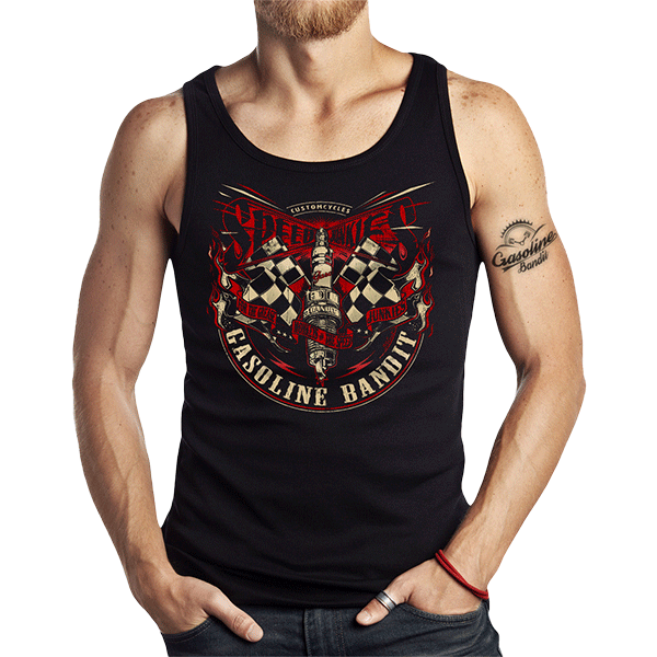 "Tank Top ""Spark Speed"" von Gasoline Bandit"