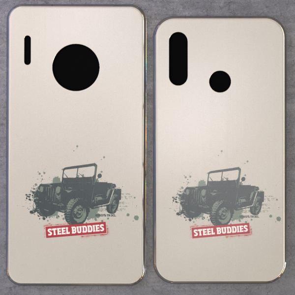 "Steel Buddies Cover ""Jeep"" für Huawei Mate Modelle"