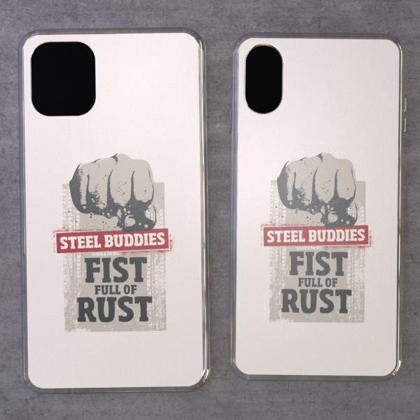 """Steel Buddies Cover """"Fist Full"""" für iPhone Modelle"""