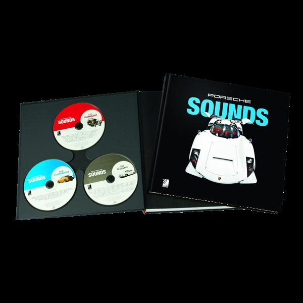 "Bildband mit CD ""Porsche Sounds"""