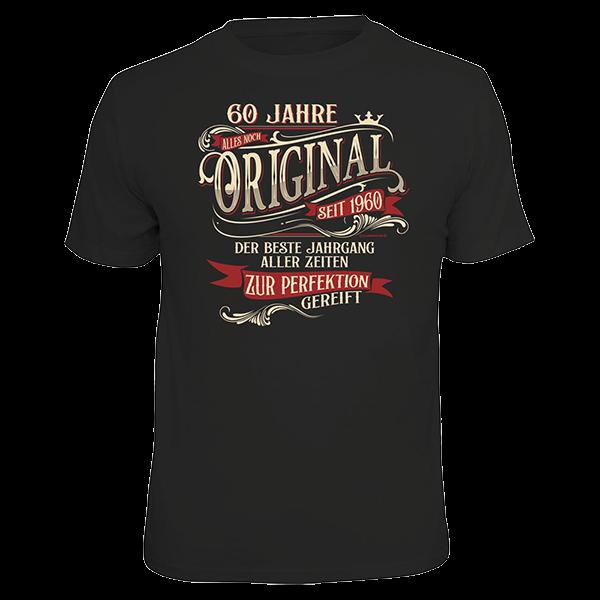 """T-Shirt """"Original seit 1960"""""""