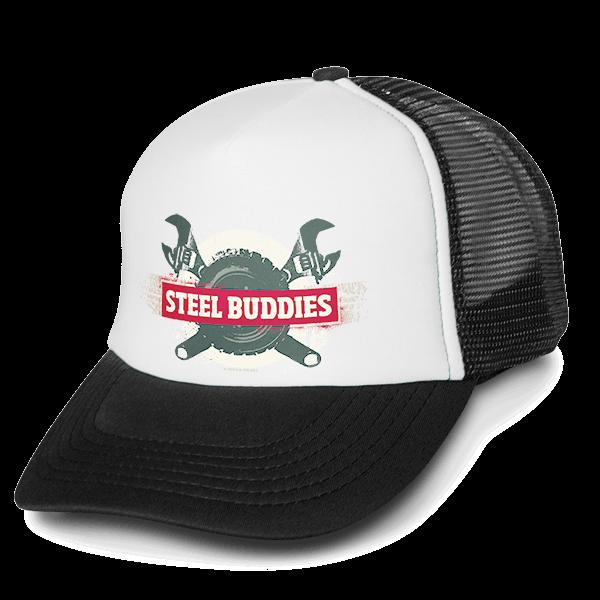 """Steel Buddies Trucker-Cap """"Logo"""""""