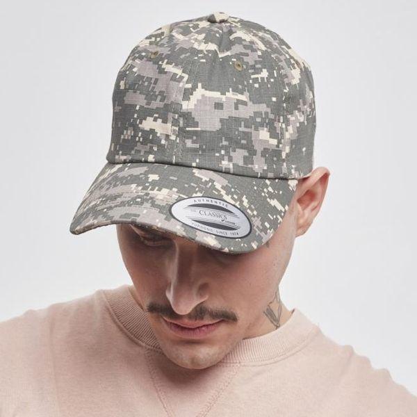 "Low Profile Baseball Cap ""Digital Camo"""