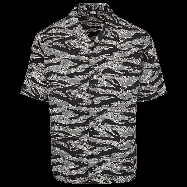"Beach Shirt ""Stone Camo"" von Urban Classics"