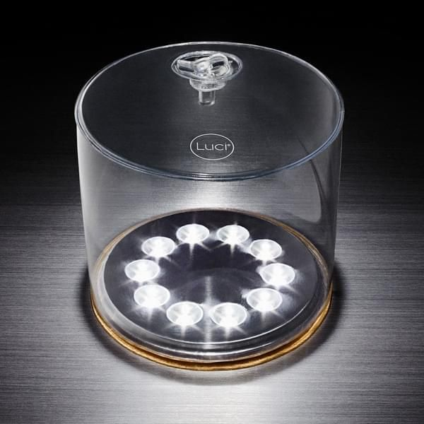 Aufblasbare und wasserdichte LED-Solarleuchte