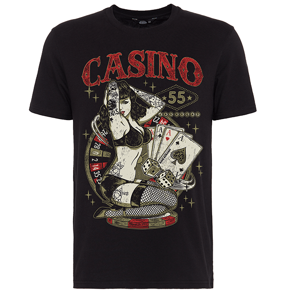 "King Kerosin T-Shirt ""Casino"""
