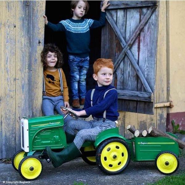 "Tretauto ""Traktor mit Anhänger"""