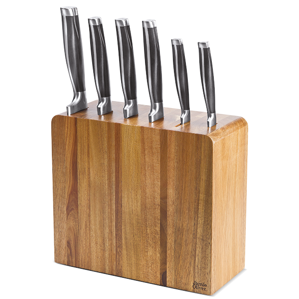 Jamie Oliver Messerblock mit 6 Messern