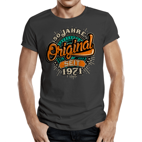 "T-Shirt ""Original seit 1971"""