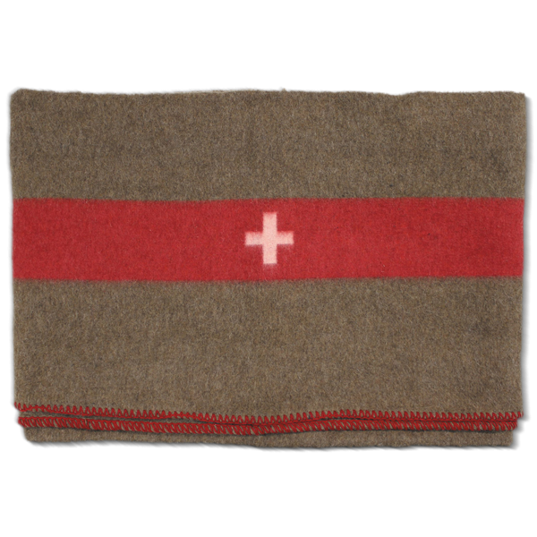 Schweizer Armee Decke