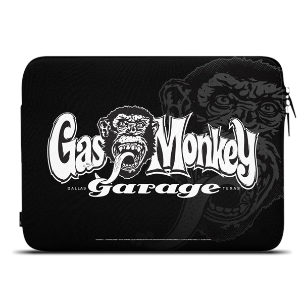 "Gas Monkey Garage Notebookhülle ""Monkey"""