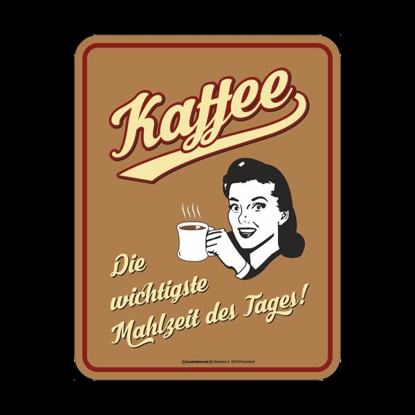 """Magnetschild """"Kaffee"""""""