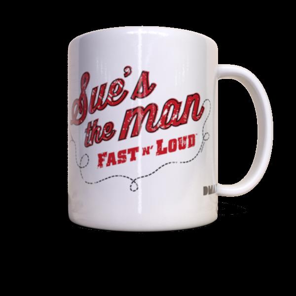 """Tasse """"Fast N' Loud Sue"""""""