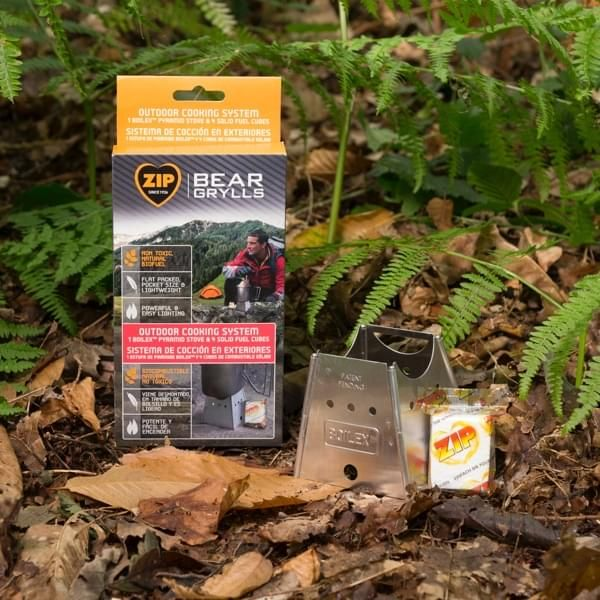 Bear Grylls Outdoor Cooking System