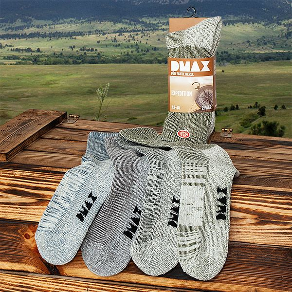 "DMAX Socken ""Expedition"" (2 Paar)"