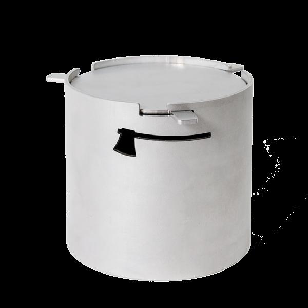 Premium Räucherbox aus Edelstahl