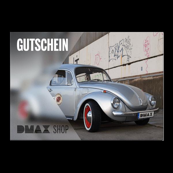 """Gutschein zum Selbstausdrucken """"VW Käfer"""""""