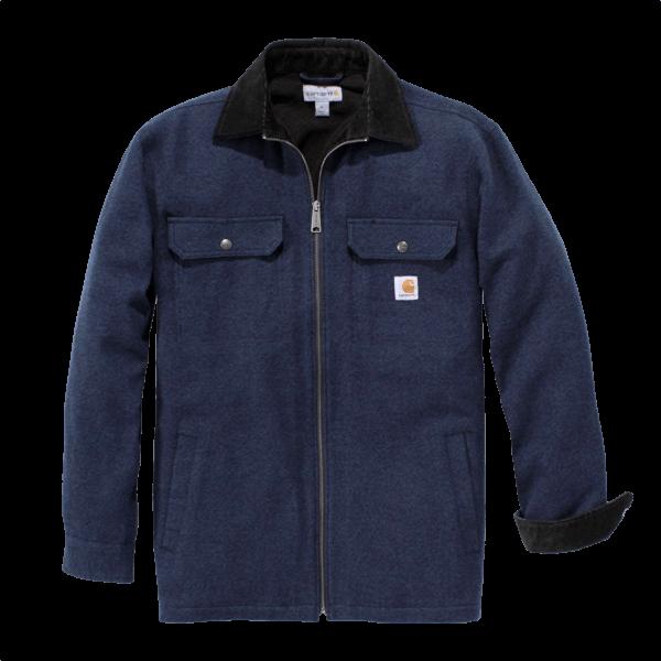 Wasserabweisende Hemdjacke mit Fleece-Futter von Carhartt