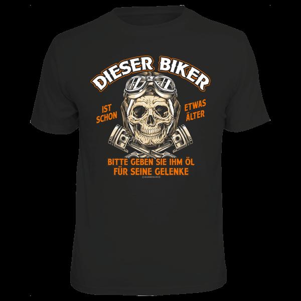 """T-Shirt """"Dieser Biker ist schon etwas älter"""""""