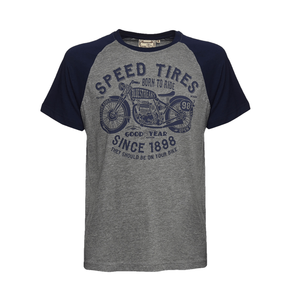 "Goodyear T-Shirt ""Born to Ride"""