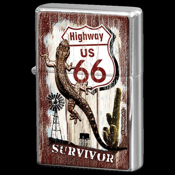 """Feuerzeug """"Highway 66 Desert Survivor"""""""