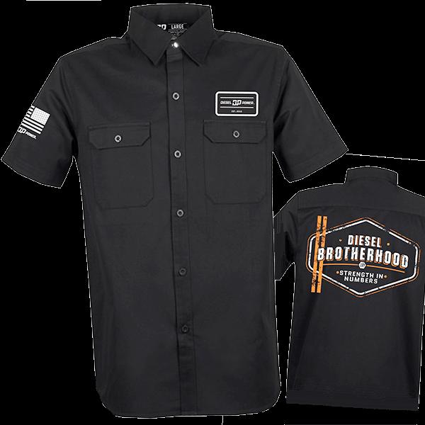 """Diesel Power Gear Work Shirt """"Diesel Brotherhood"""""""