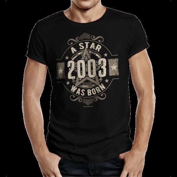 "T-Shirt ""A Star Was Born - 2003"""""