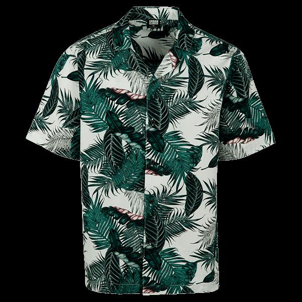 """Beach Shirt """"Palm Leaves"""" von Urban Classics"""