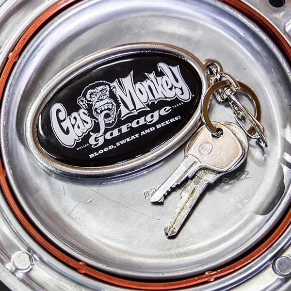"""Gas Monkey Garage Schlüsselanhänger """"Black 'n White"""""""