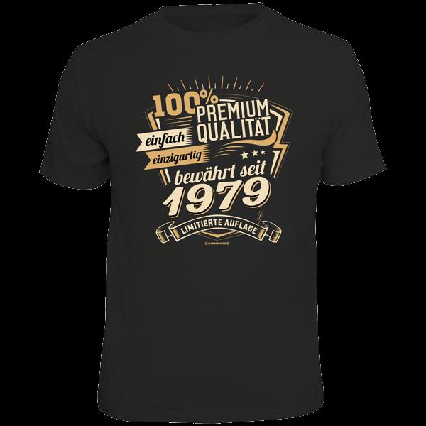 """T-Shirt """"Premium Qualität seit 1979"""""""