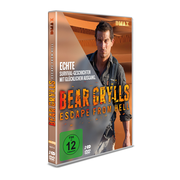 "DVD ""Bear Grylls - Escape from Hell"""