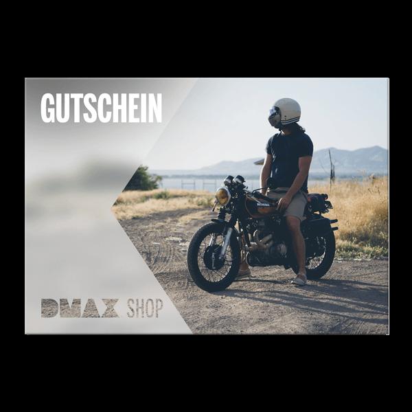 """Gutschein zum Selbstausdrucken """"Motorrad"""""""