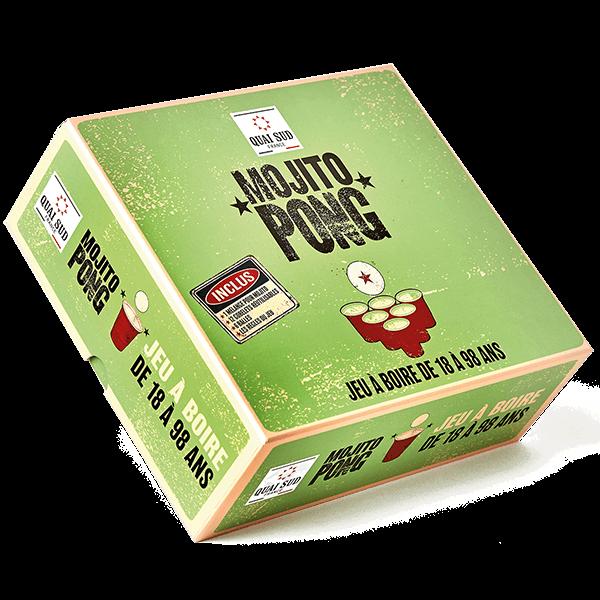 """Geschenkset """"Mojito-Pong"""" - das Trinkspiel"""